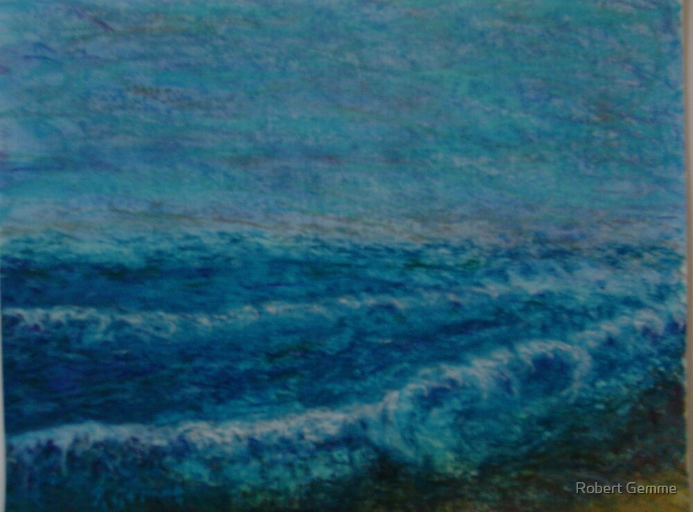 Wind and Water in Blue by Robert Gemme