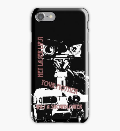 No Disassemble iPhone Case/Skin