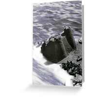 castles made of sand Greeting Card