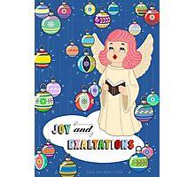 Joy from Queenie! Photographic Print