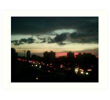 beauty nightly sky Art Print