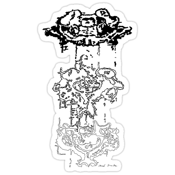 LINEart T-shirt : Three Layers by LINEart
