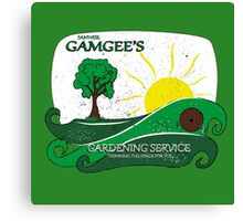 Gamgee's Gardening Services Canvas Print