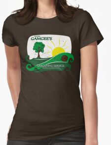 Gamgee's Gardening Services Womens Fitted T-Shirt