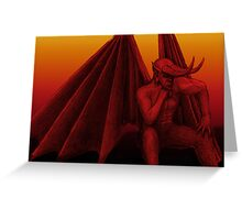 Lord of the underworld Greeting Card