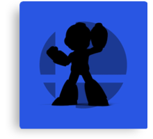 Smash Bros - Mega Man Canvas Print