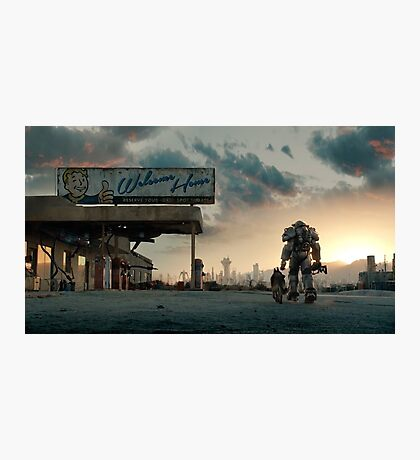 Fallout 4 - Welcome Home Photographic Print