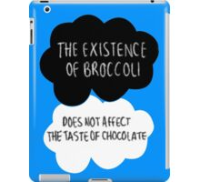 The Existence of Broccoli iPad Case/Skin