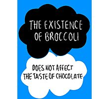 The Existence of Broccoli Photographic Print