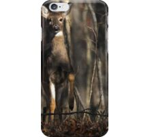 Doing The Deer Stamp iPhone Case/Skin