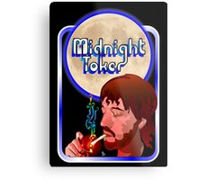 The Midnight Toker Metal Print