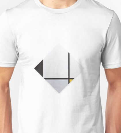 Composition with Blue and Yellow (Composition 1) Piet Mondrian,  Unisex T-Shirt