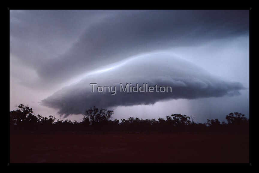 mothership - outback Qld by Tony Middleton