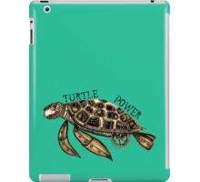 Steampunk turtle iPad Case/Skin