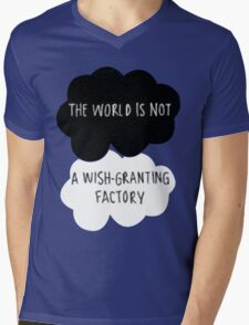 The World is Not a Wish-Granting Factory Mens V-Neck T-Shirt