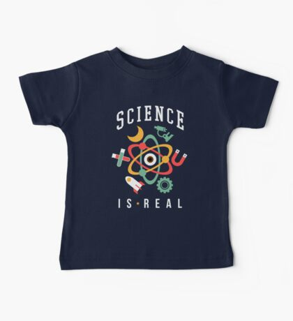 Science Is Real Baby Tee