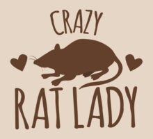 CRAZY RAT LADY by jazzydevil