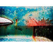 Junkyard Door  Photographic Print
