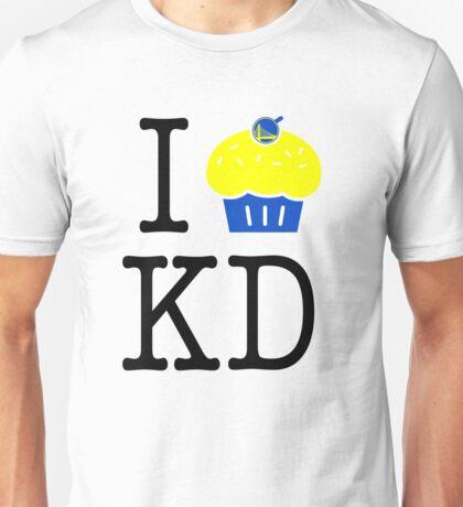 "GSW - I Heart KD Kevin Durant Cupcake ""Reverse Troll"" Shirt 2 Unisex T-Shirt"