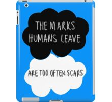 The Marks Humans Leave iPad Case/Skin