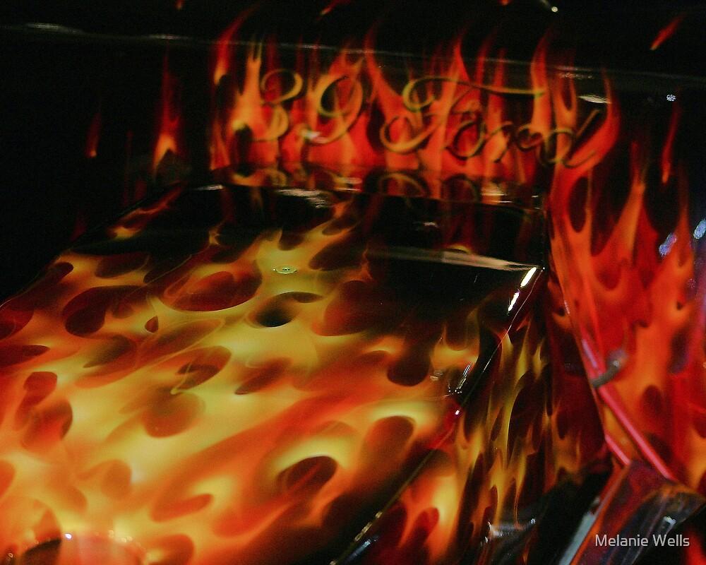 ON FIRE by Melanie Wells