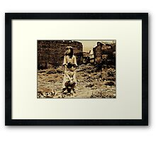 hopefulness demolition... Framed Print