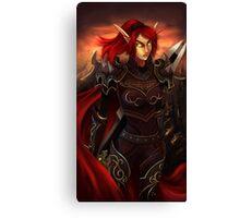 Blood Elf Canvas Print