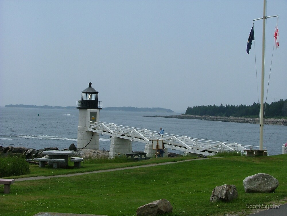 Marshall Point Lighthouse by Scott Syster