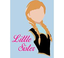 Little Sister Photographic Print