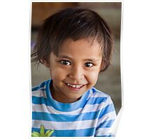 Faces of Timor #13 in colour - smiles Poster