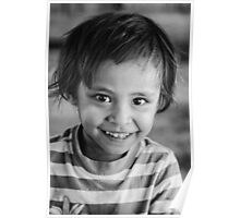 Faces of Timor #13 - smiles Poster