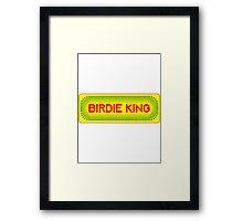 Arcade Classic - Birdie King Framed Print