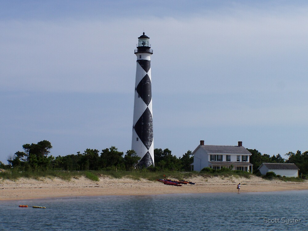 Cape Lookout Lighthouse by Scott Syster