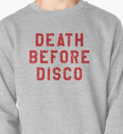 DEATH BEFORE DISCO (STRIPES) Pullover