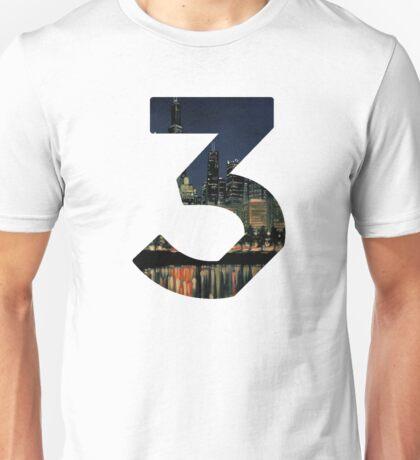 Chance the Rapper - 3 Chicago Unisex T-Shirt