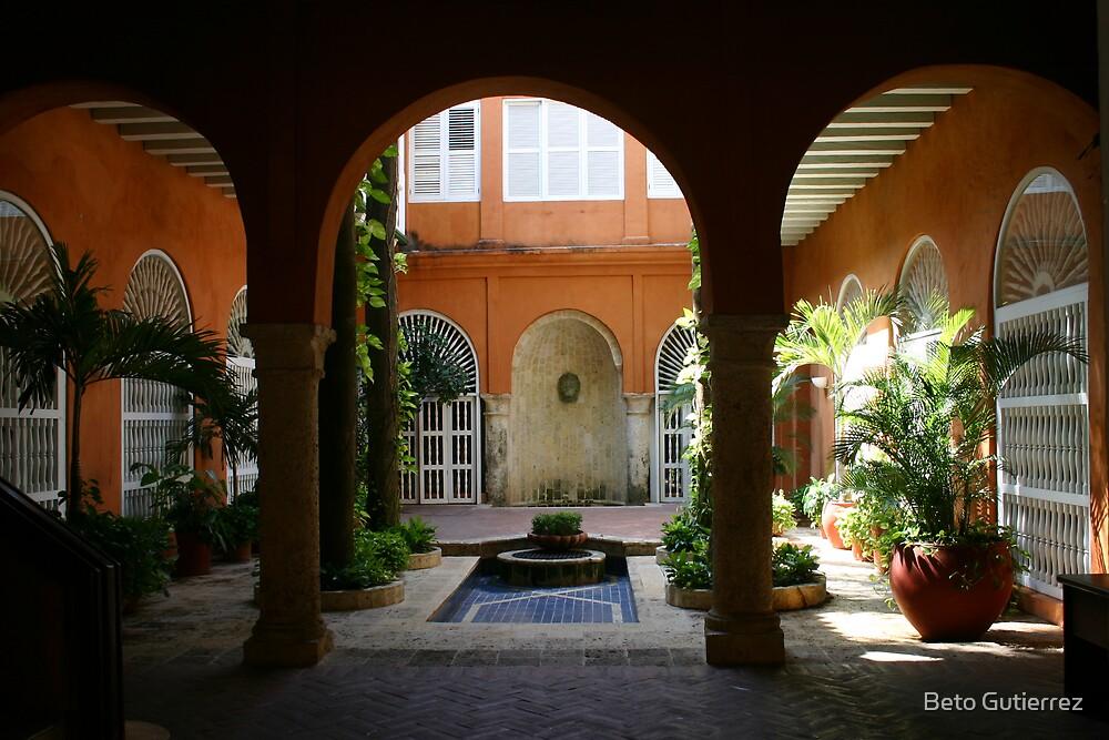 Columbian Patio by Beto Gutierrez