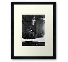 time's winged chariot Framed Print