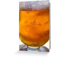 Amstel Greek Beer Greeting Card