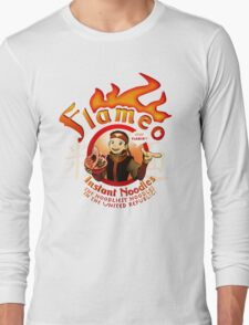 Flameo Instant Noodles! Long Sleeve T-Shirt