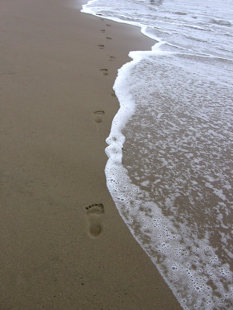 Footprints in the Sand by Jazz