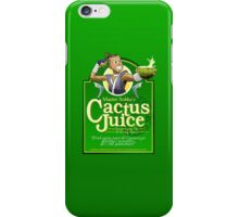 Master Sokka's Cactus Juice iPhone Case/Skin