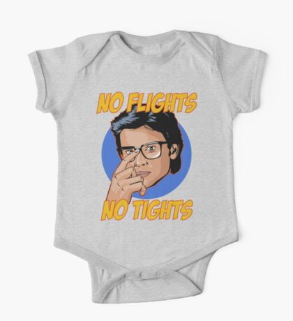 Official Tom Welling - No Flights, No Tights Tee One Piece - Short Sleeve