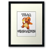 Team Charmander (Pokemon) Framed Print
