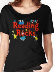 read across america - reading rocks - Dr Seuss Women's Relaxed Fit T-Shirt