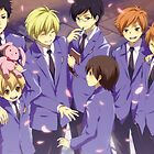 Ouran Host Club  by banafria