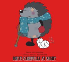 Drive carefully at night Kids Clothes