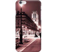 Notre Dame Night 2 iPhone Case/Skin