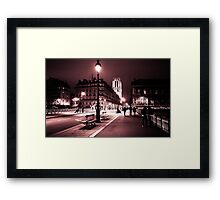 Notre Dame Night 2 Framed Print