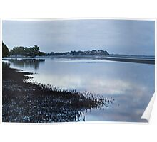 Nudgee Beach at dawn. Poster