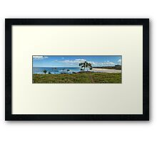Dreamtime Beach, NSW Framed Print